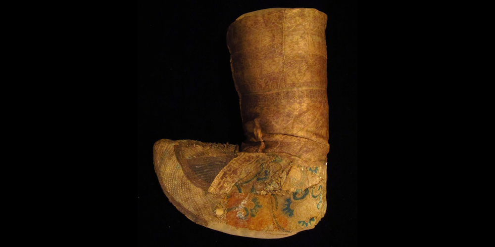 7c Tang dynasty boot