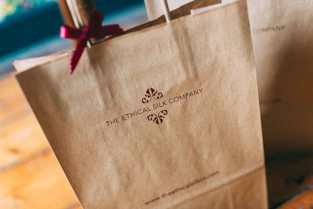 The Ethical Silk Company Gift Bags