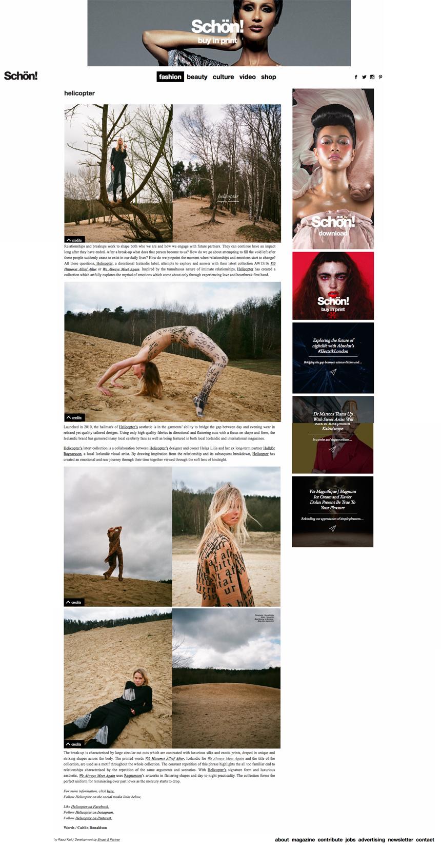 Schön Magazine - September 2015