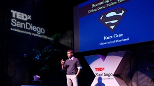 Becoming Superman: Doing Good Makes You Strong