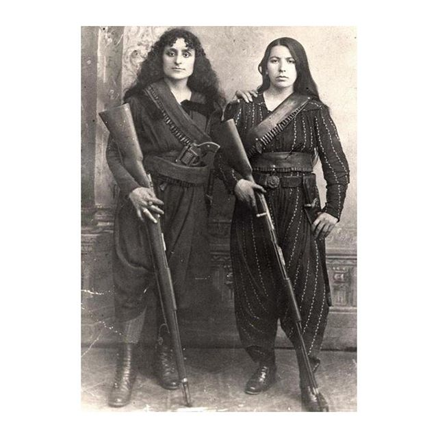 Just found this image of Armenian soldiers from the early 1900's. They look pretty damn impressive, like true warriors. #warriors #inspiration #femalesoldiers #girlboss #standup #rolemodels #denizterli #girlfighters