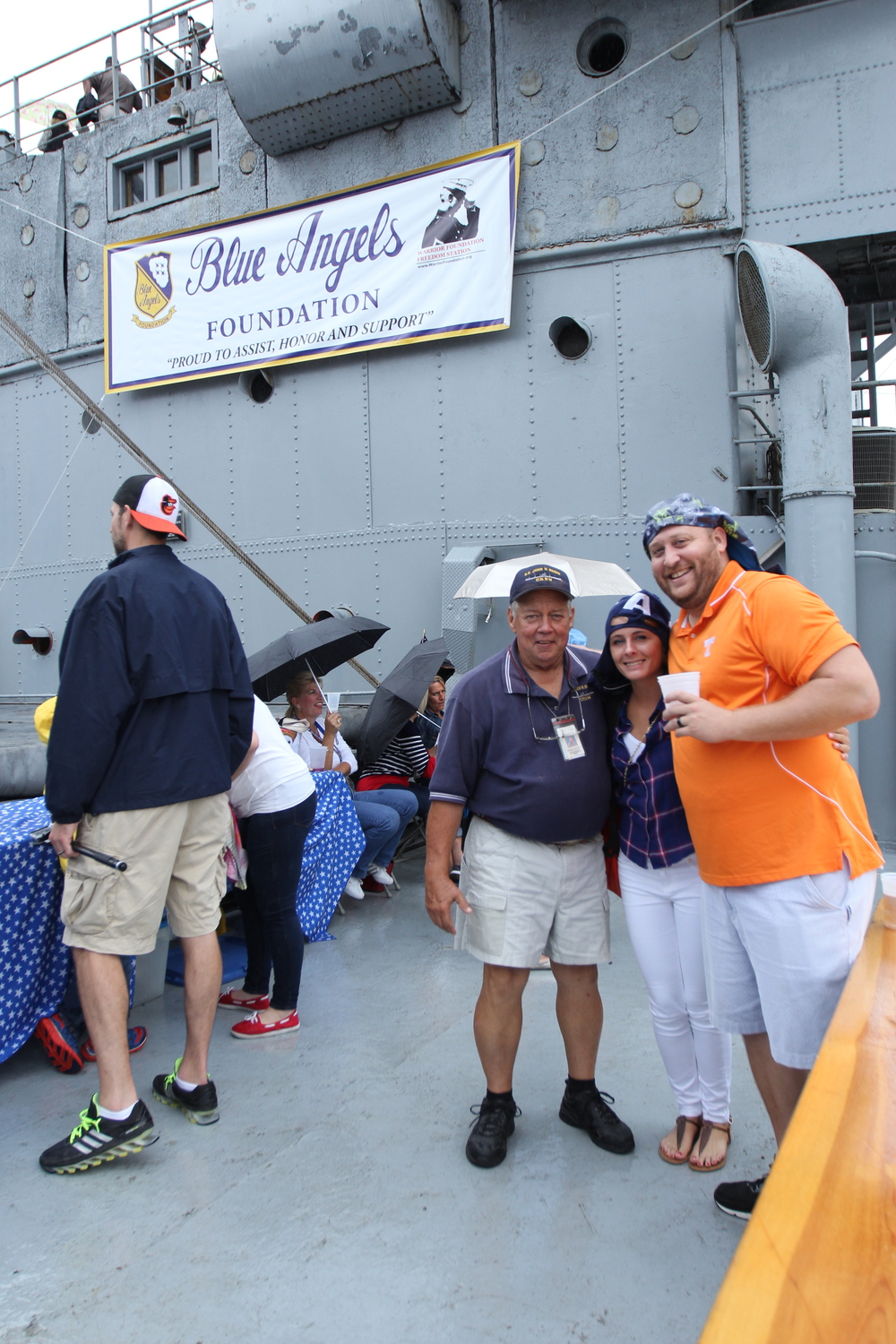 Blue Angels Foundation ....  They chartered the ship to view the Blue Angel Airshow during Sailabration 2014.