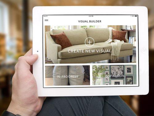 Pottery Barn Visuals App Taylor Deppisch UX Designer