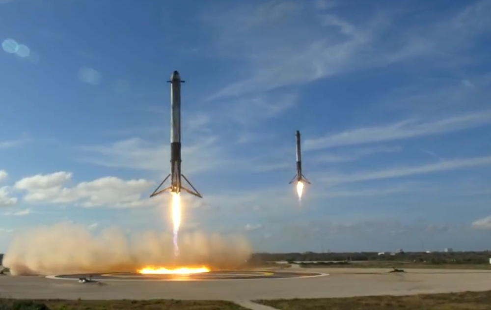On Day 32 (February 6, 2018)  - SpaceX did something amazing.  They did it in front of the whole world.  They did it with a wink and a nod and a red sports-car.  It was inspiring as all heck.