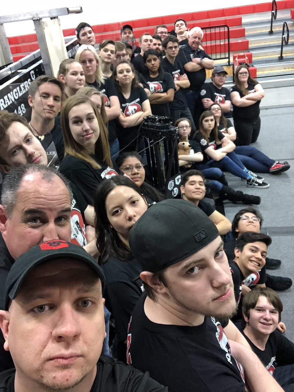 Robowrangler Selfie