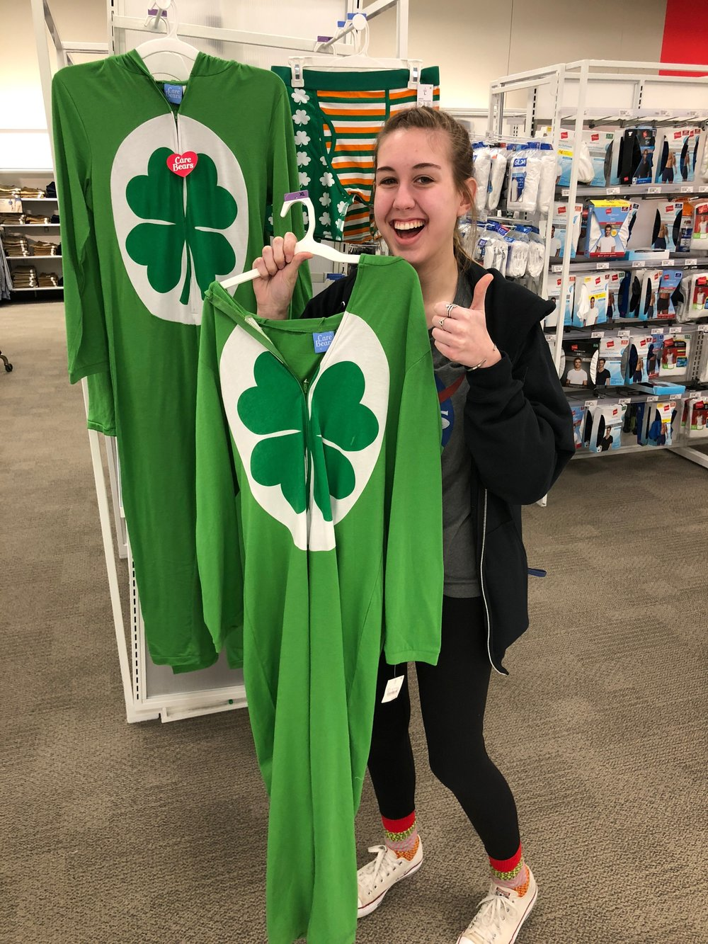 """Madison wanted this to be """"the shirt"""" but they stopped her... I think. I haven't seen the actual shirt yet."""