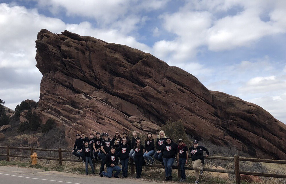 Happy Group at Red Rocks
