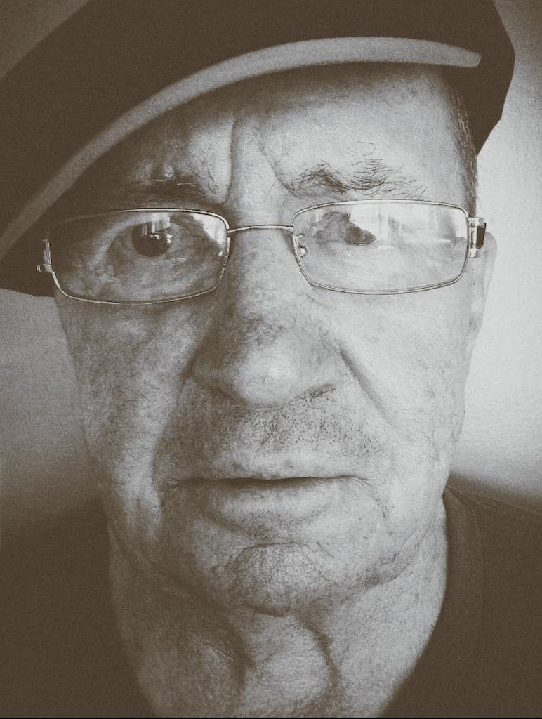 My dad, Leo Kane, in June 2014.
