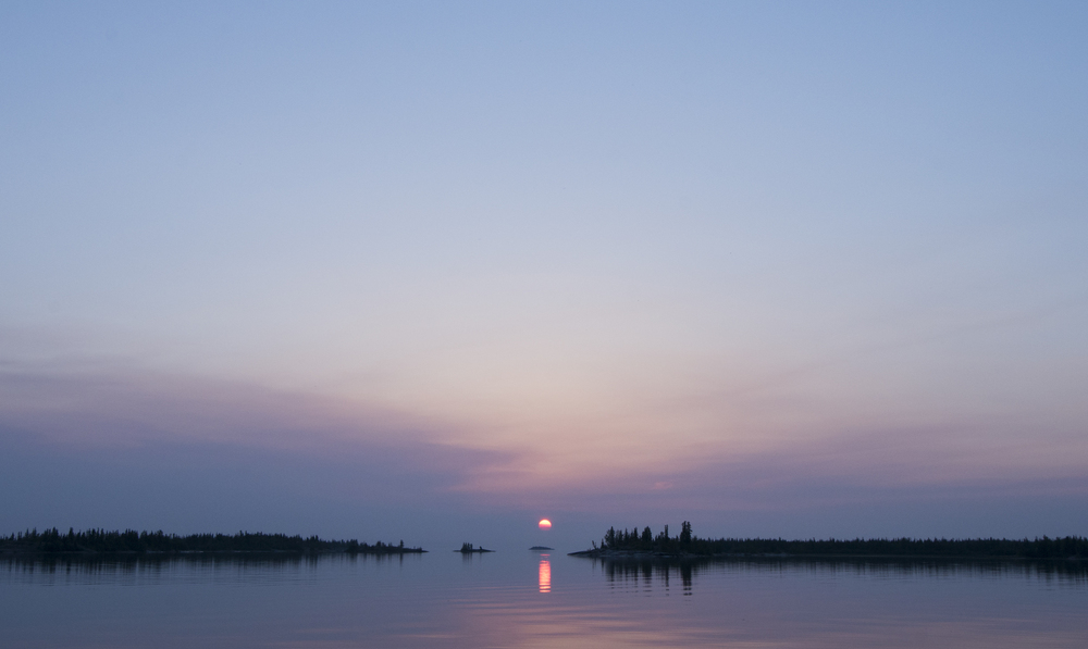 Near Drybones Bay, Great Slave Lake