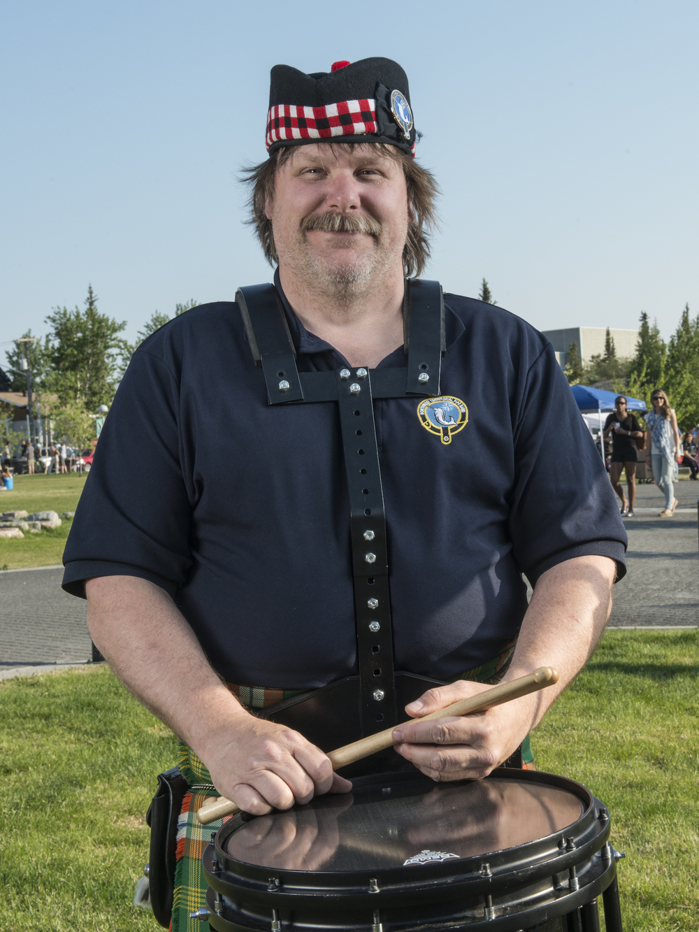 Drummer, NWT Pipe Band