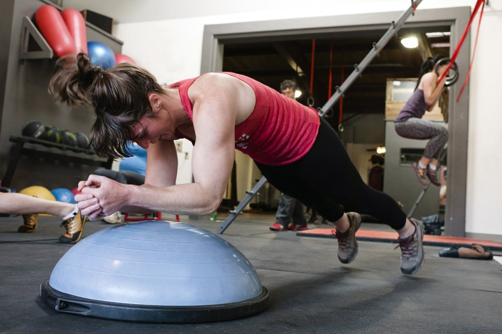 Group Classes - Too often group classes generalize movement into set standards, forcing people to participate in the same exercise, at the same pace, for the same amount of time. With clients ranging from professional athletes to 80 year old grandparents, this format becomes too generalized to be effective. For this reason, we design each class with the individual in mind, giving every client personalized accommodation so that the athlete and the grandparent can work side-by-side at their own level.We provide strength, conditioning, mobility, and climbing specific classes to give you the work you need, when you need it.