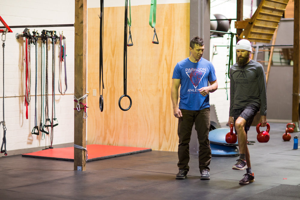 Our Prehab style of training is built on the concept that the movement assessments typically used in a physical therapy setting post-injuryshould be used in a training setting pre-injury. -