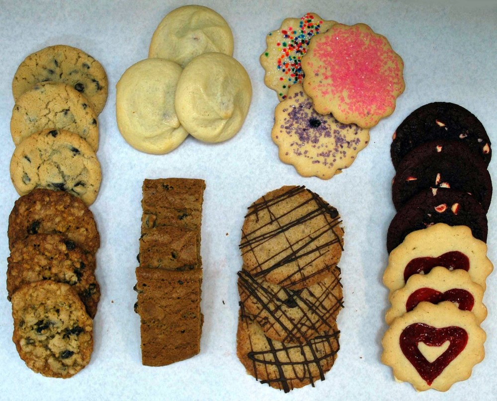 Some of our favorite fresh baked cookies!
