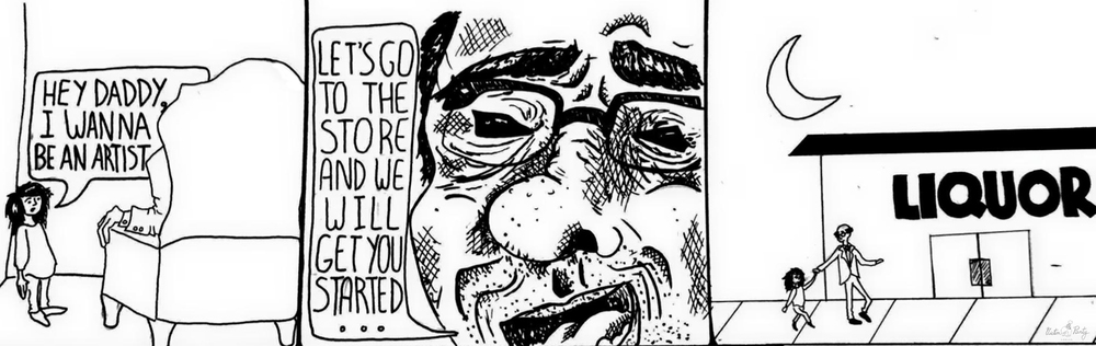 """How it Begins"" by Olivia Grace -- Victim Party Comics"
