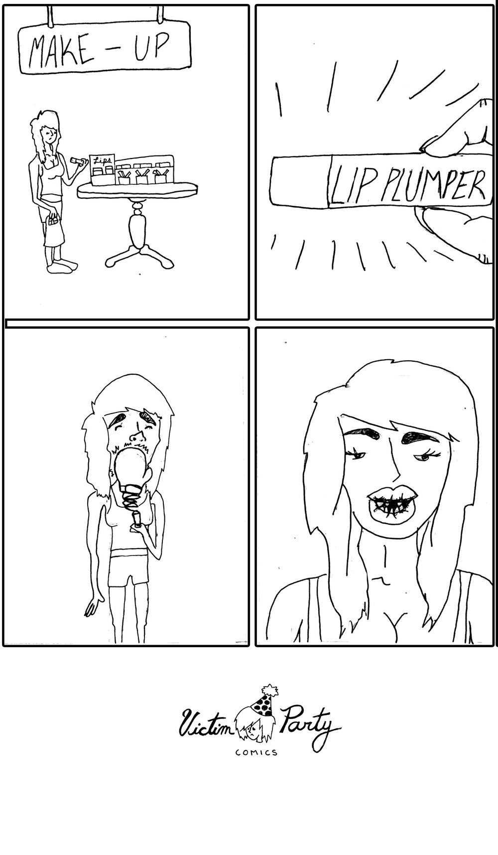 Lip Plumper by Olivia Grace - Victim Party Comics