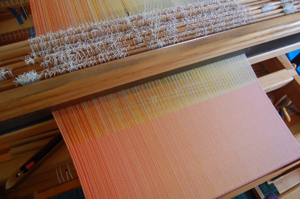Coral Egyptian Cotton weft