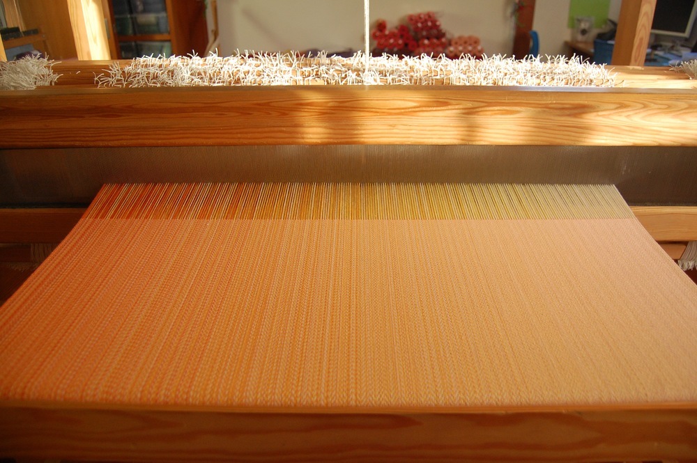 melon cottolin weft