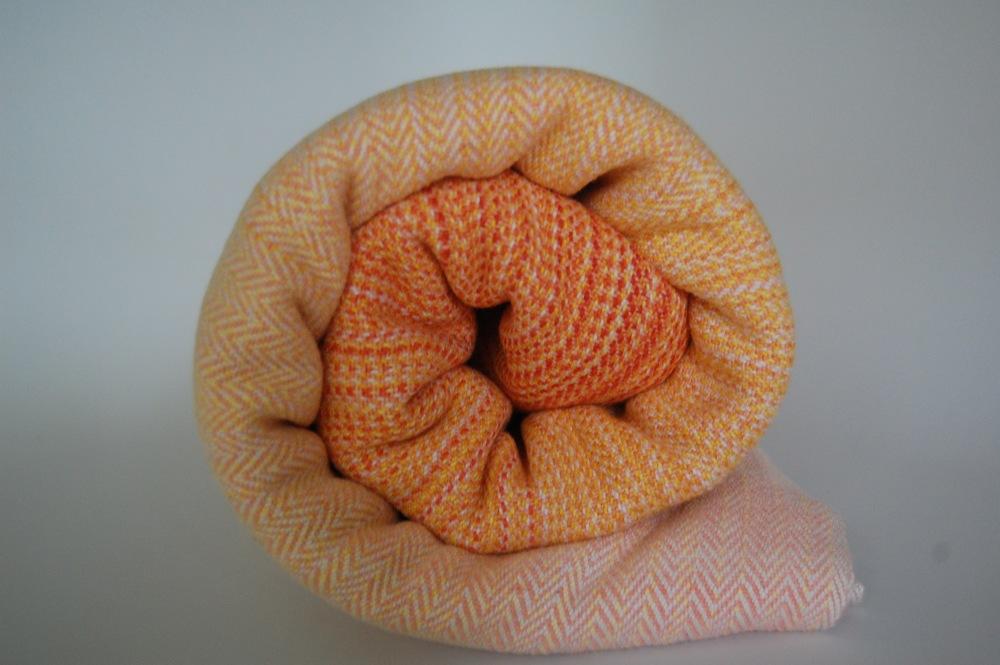 Melon Hemp/Cotton weft,  approximately 360 grams/m^2, 4.2 meters $504