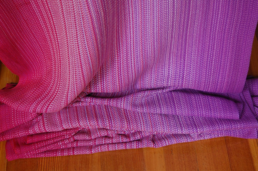 Magenta cotton weft 4.3 meters $451.50 approximately 285 grams/m^2.