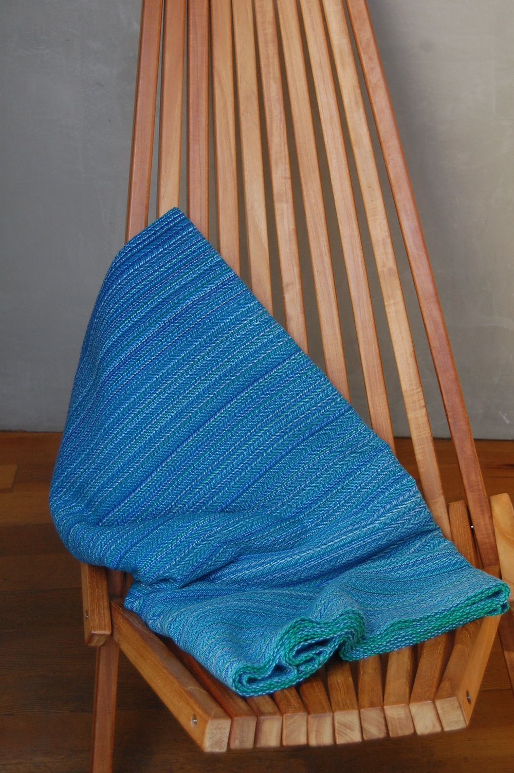 Naiad Lapis Superwash Merino Lambswool weft 4.8 meters $576 approximately 254 grams/m^2