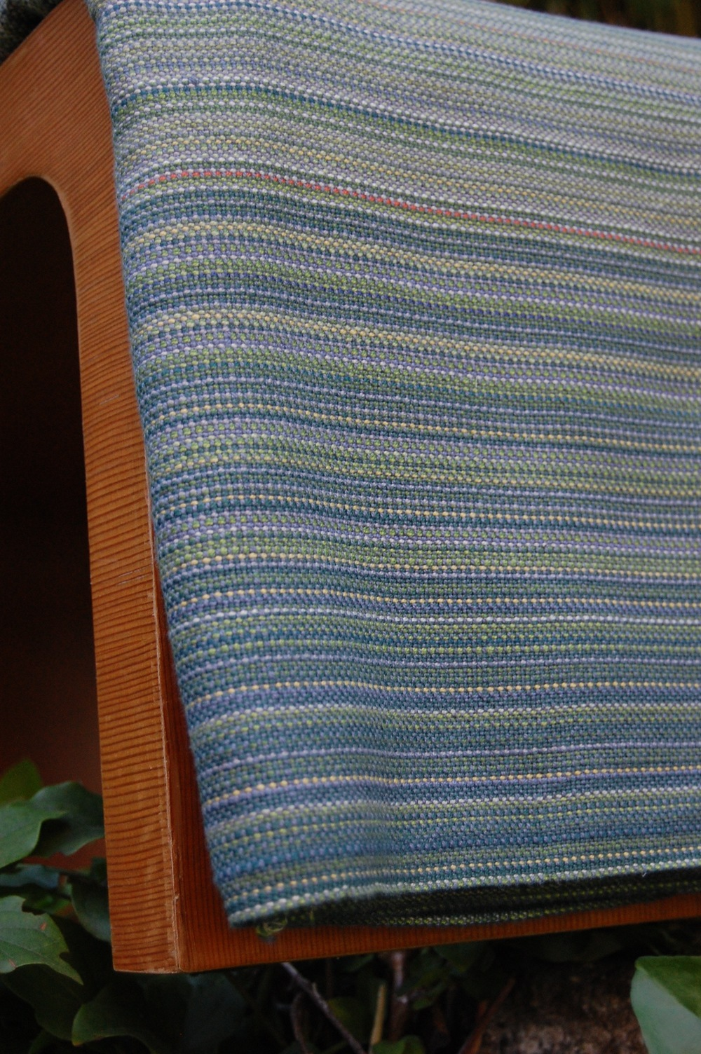 Cambria steel blue Egyptian cotton weft 4.2 meters $418.50 SECOND QUALITY - slight cosmetic flaw