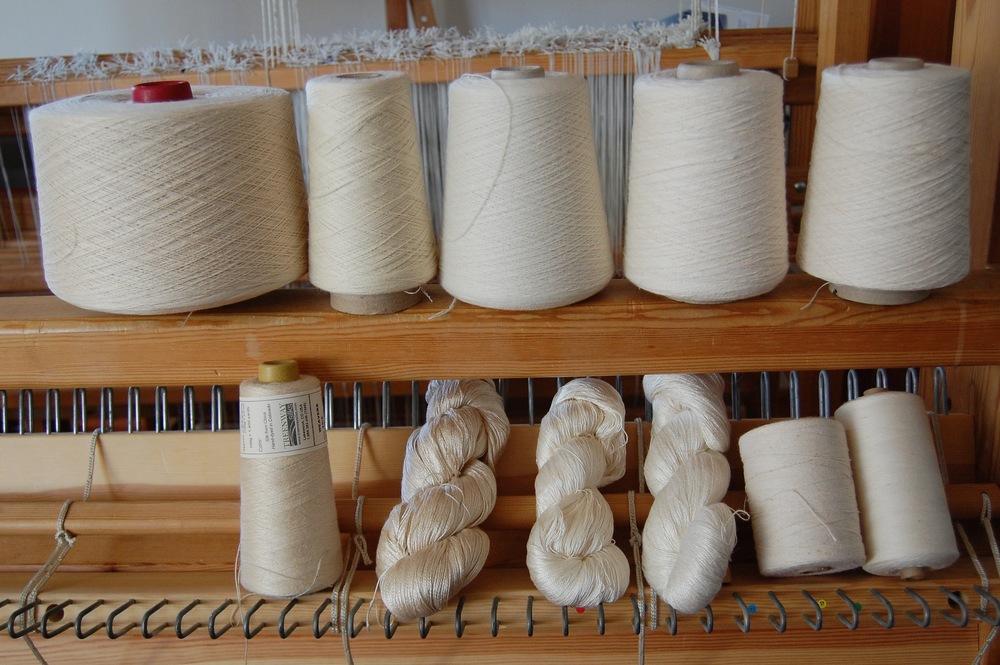 the natural yarns