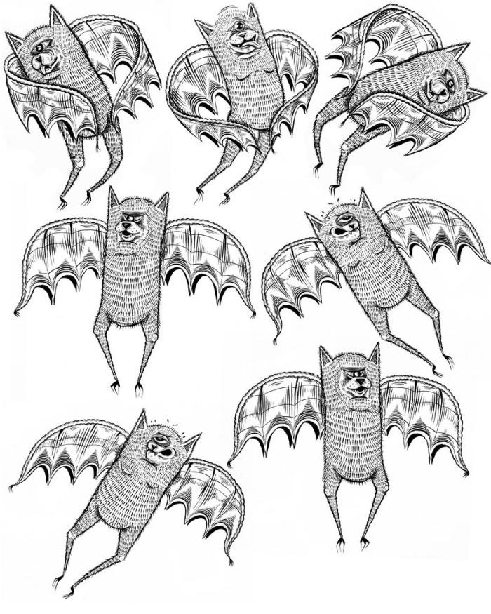 bats on bats on bats