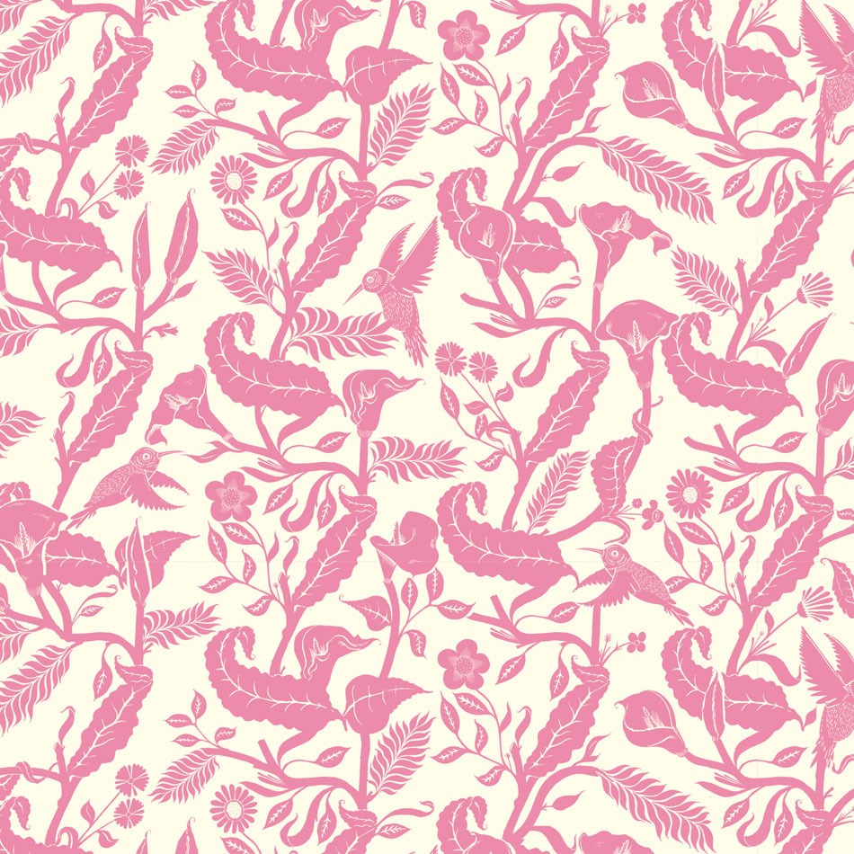 hummingbird pattern, jungle scenes