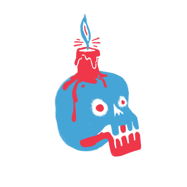 starting a zine, could take forever, in the meanwhile enjoy this skull, more to come…