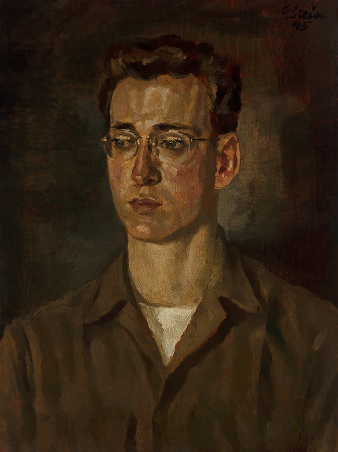Hal Pufall 1945, painted by a 'German POW'