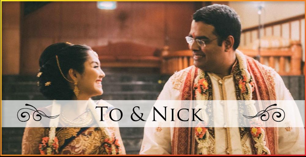 งานแต่งงานคุณโตและคุณนิค