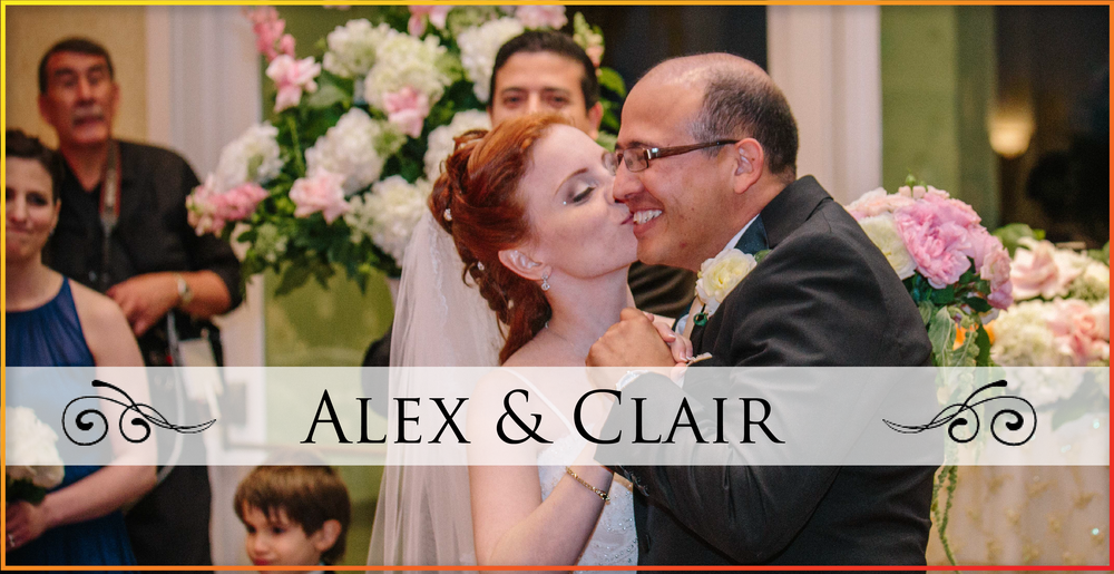 Alex & Clair Wedding