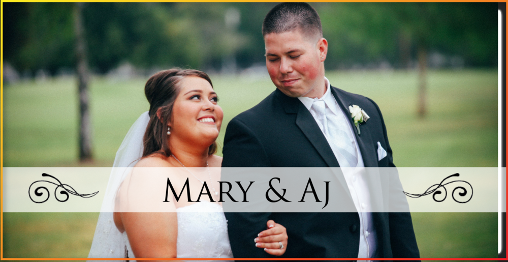 Mary & AJ Wedding