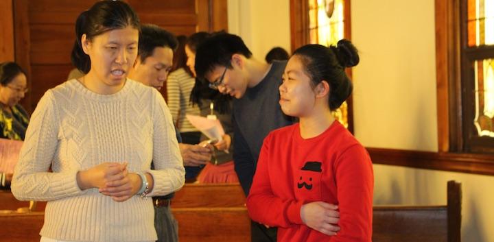We welcome international students! 欢饮中国留学生和所有国际学生!