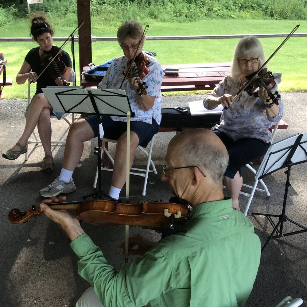 Fiddle workshop - Berkshire Summer Strings 2016
