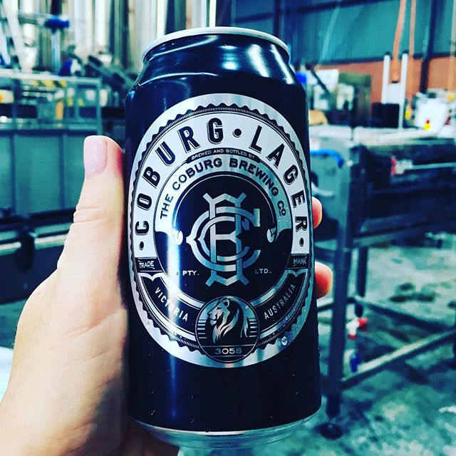 It was a good day! Coburg Lager Cans now available @coburgbrewingco @kentaylorart #nicecans #tinnies #candoit #coburgbrewingco #coburglager #kentaylorart #craftbeer #beer #coburg