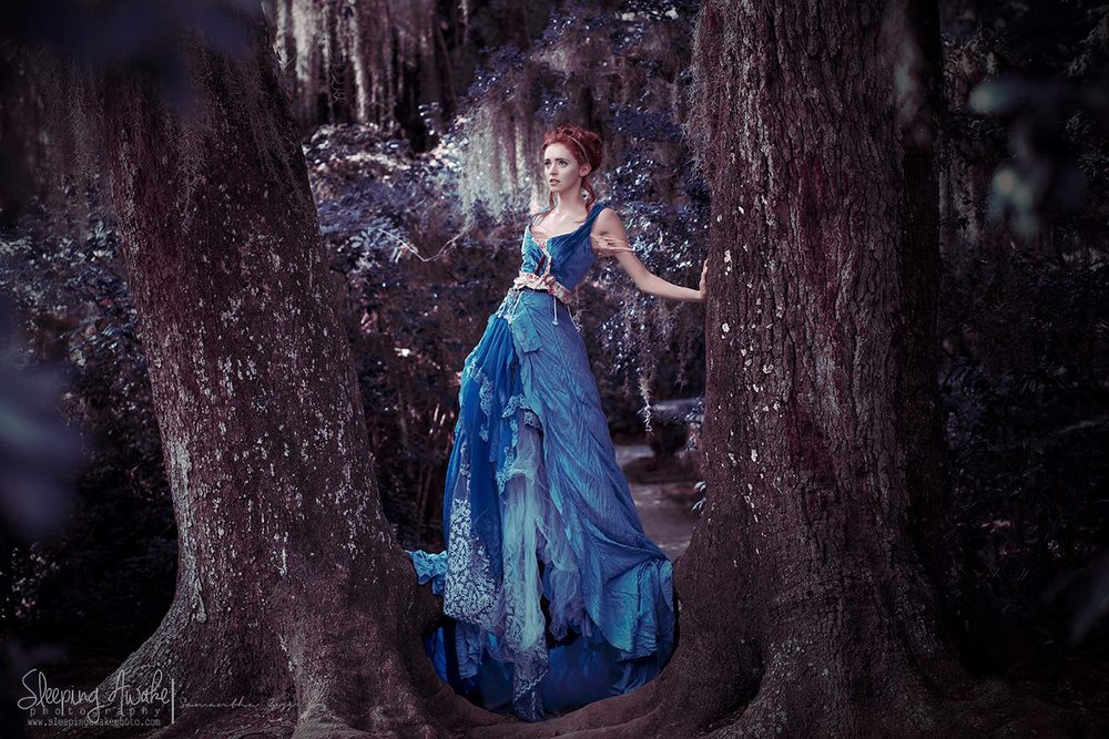 Design:  Alice Andrews Designs, Parachute Dress Image:  Sleeping Awake Photography, Samantha Ann Goss Model:  Brooke Tindal,  Hair: Spencer Barnhart, Makeup: Mirror Makeup Artistry