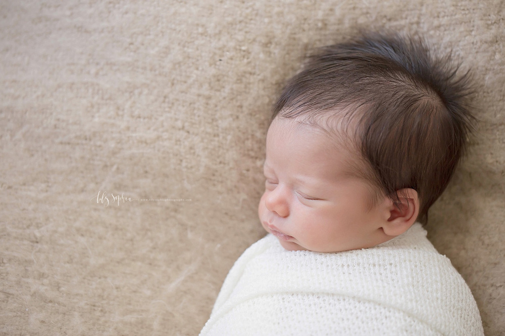 Natural Newborn Baby Boy Images Photography