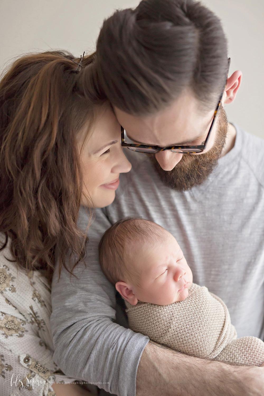 Family newborn baby boy atlanta newborn photographer natural