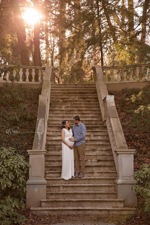 Atlanta Maternity Photographer | Priti & Paras in the Gardens ...