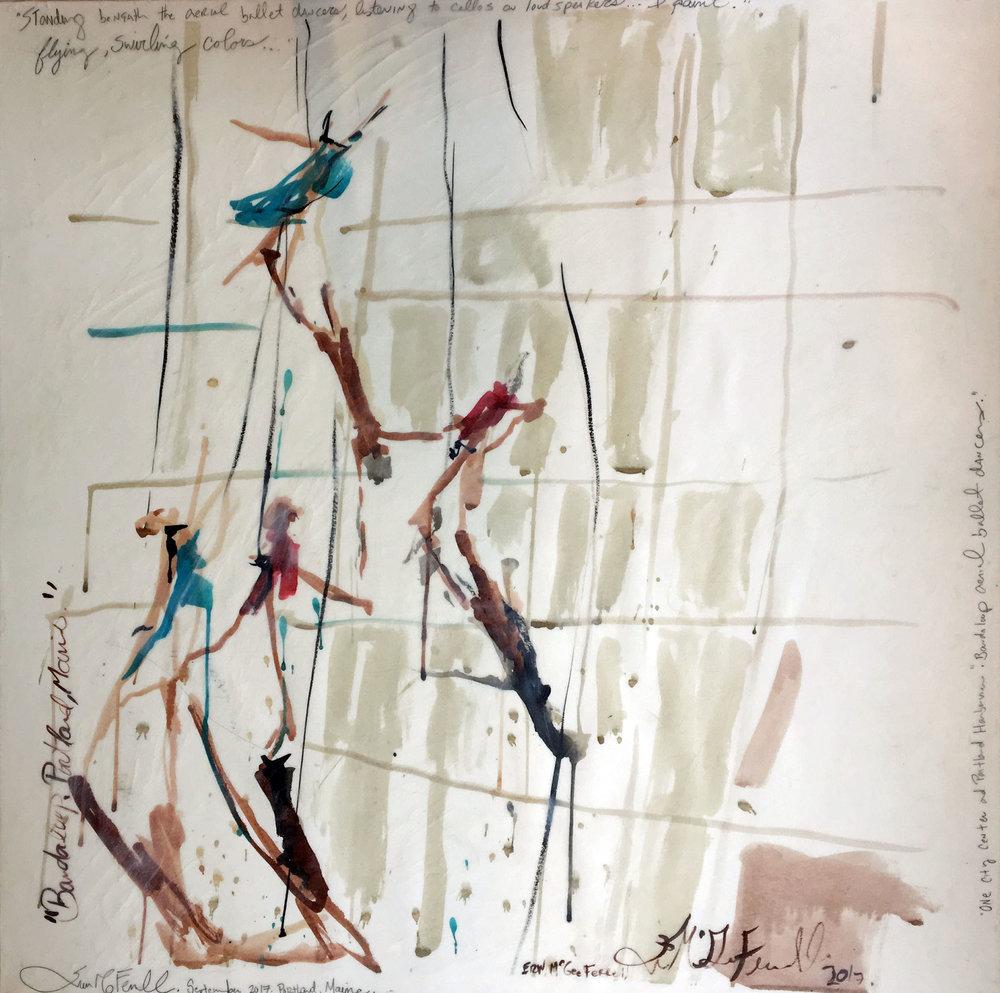 Bandaloop III. Aerial Dancers.