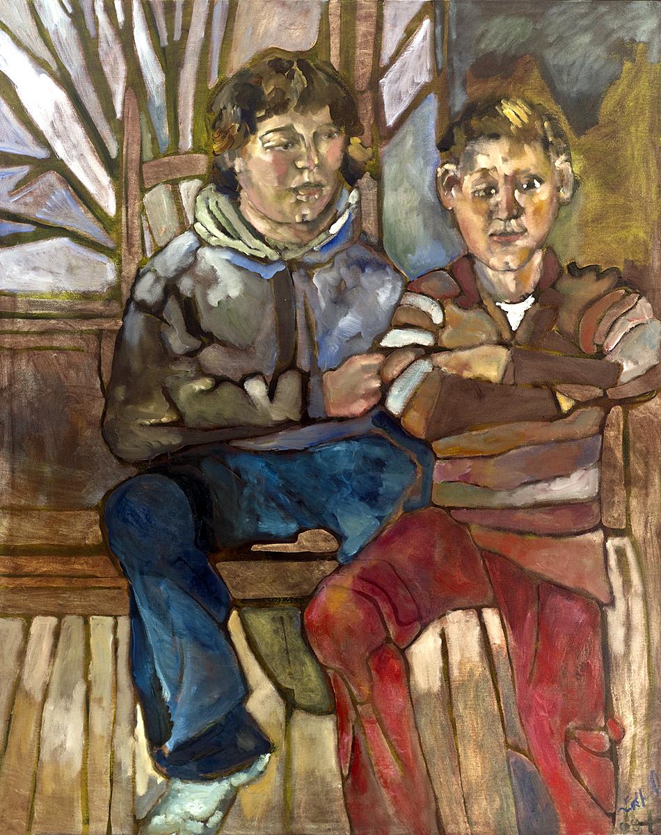 Angus and Ethan