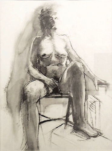 Seated Figure #2
