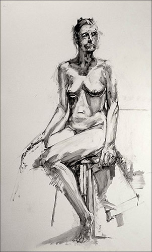 Seated Figure #4