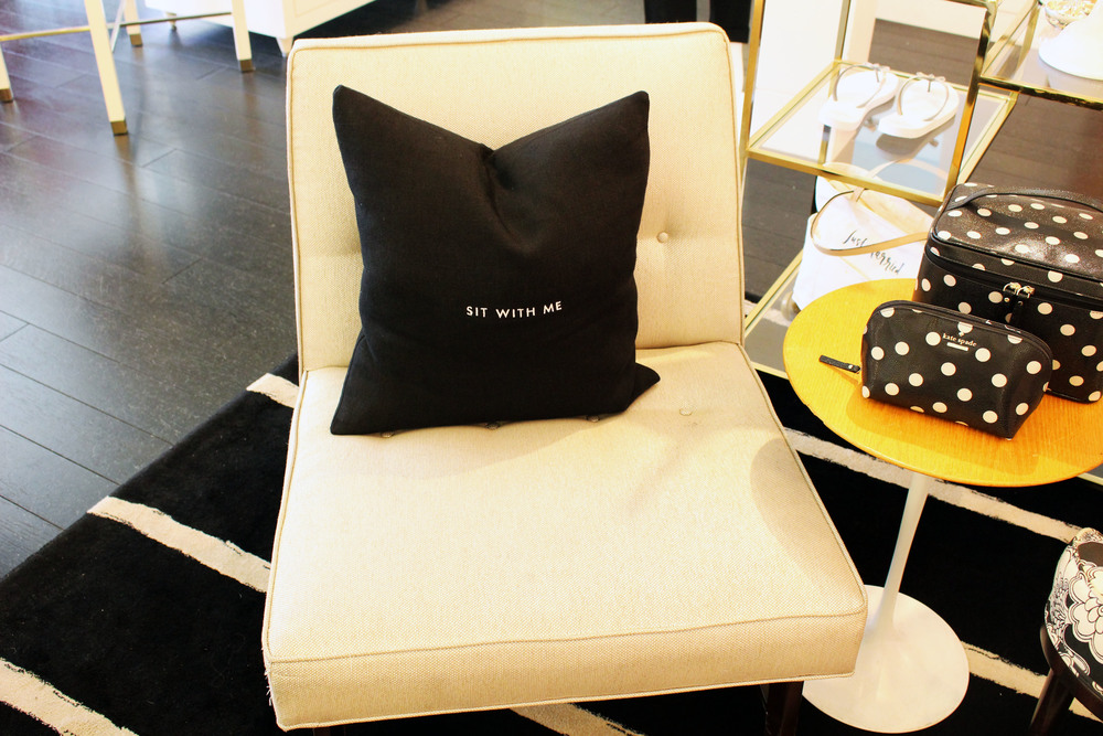 Kate Spade Chair and Details- Photo Shoot La Jolla
