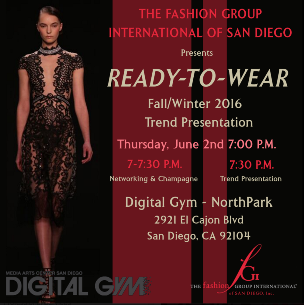 FGI Fall and Winter Trend Report at Media Arts Center