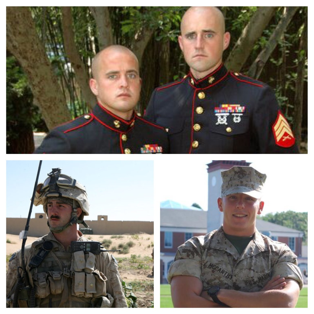 Happy Veterans Day! Here's Coach Eric (top on left), Danny (lower left), and John (bottom right).