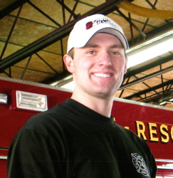 Maplewood, Missouri Firefighter, Ryan Hummert, 22, was killed by sniper fire July 21st 2008 when he stepped off his fire truck responding to a call. He is survived by his parents Andrew and Jackie Hummert.