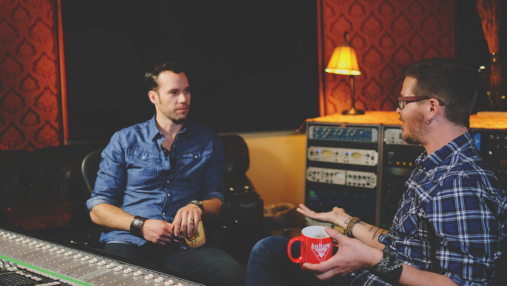 conversations tv show vogville presents chad brownlee and brain thompson - jennifer picard photography
