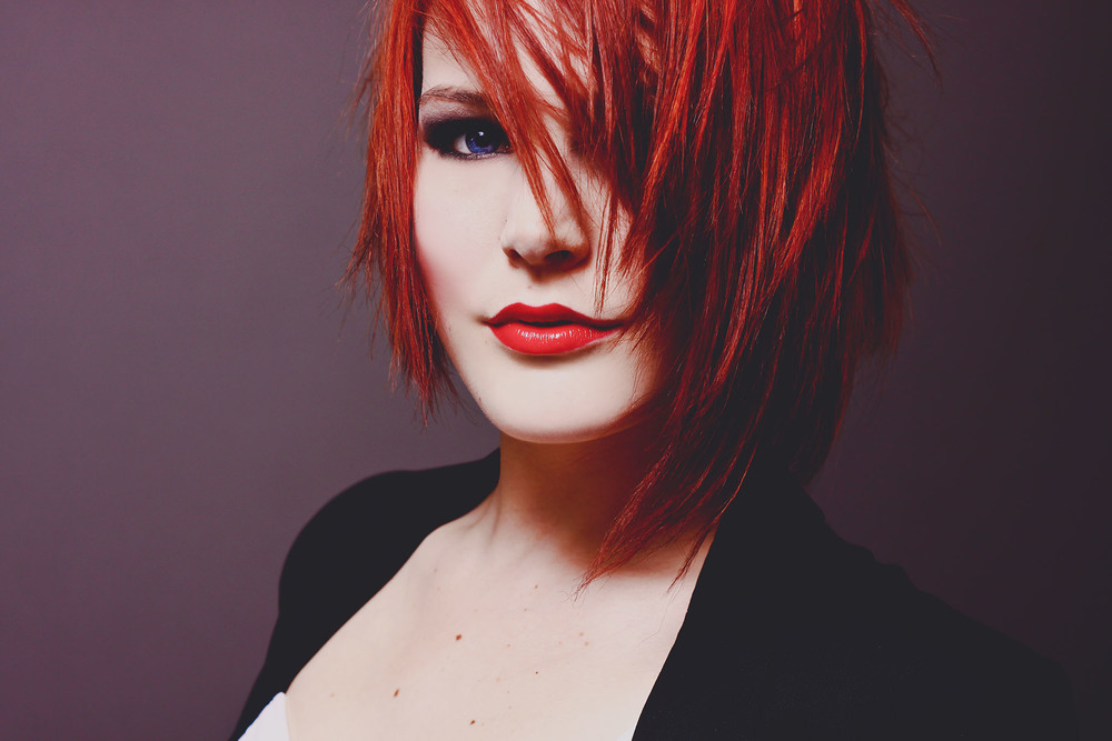 red hair, creative portraiture, jennifer picard photography